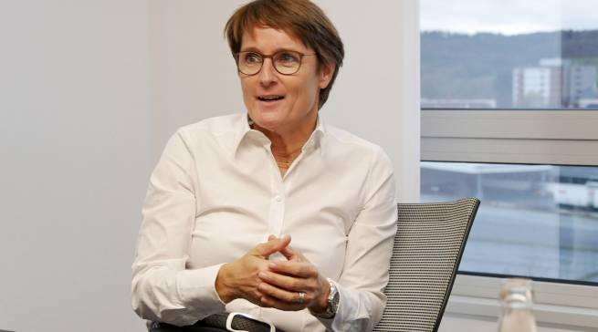 """""""Wir sehen die Abschmelze deutlich, das können wir nicht schön reden"""", EK-Vorstand Susanne Sorg."""