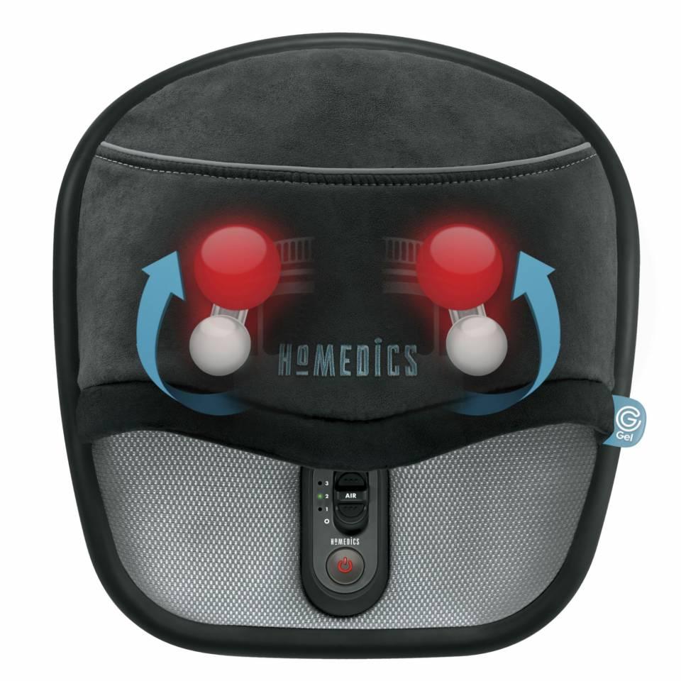 HoMedics Fußmassagegerät GSF-500H-EU mit Gel Shiatsu Massage.