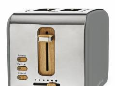 Nedis Soft-Touch-Toaster KABT510 im Retro Design.