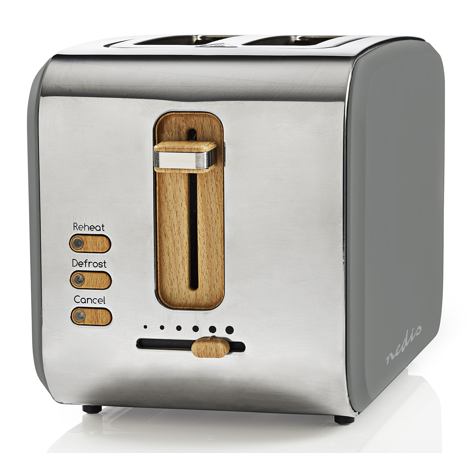<h1>Nedis Soft-Touch-Toaster KABT510</h1><h3 style='font-size: 20px; margin: 0px 0px 15px 0px;'> -2-Scheiben Toaster, Soft-Touch-Oberfläche, Retro Design</h3>