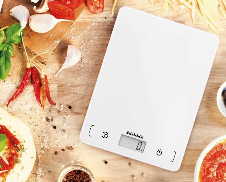 Soehnle Küchenwaage Page Compact 200mit bis 5 kg Tragkraft.