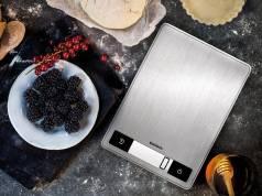 Soehnle Küchenwaage Page Profi 200 mit Anti-Fingerprint-Beschichtung.