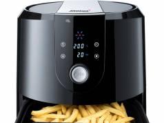 Steba Heißluft-Fritteuse HF 5000 XL zum Frittieren, Backen und Grillen.