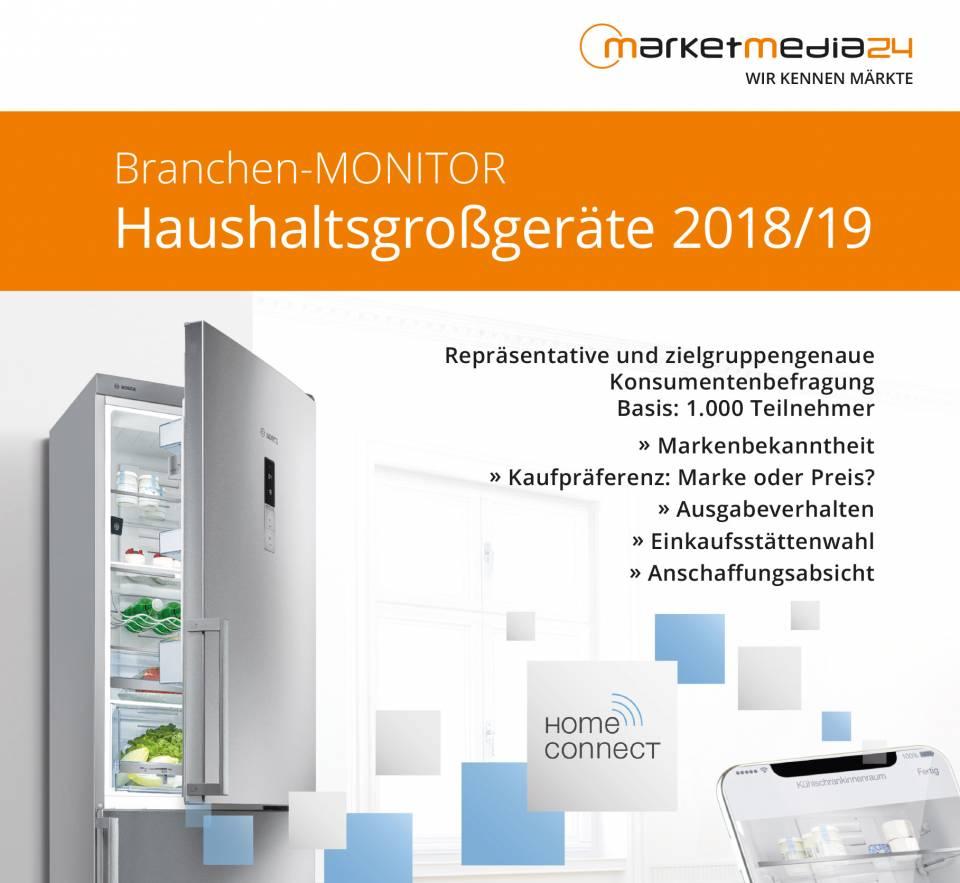 Titel Branchen-MONITOR Haushaltsgrossgeräte 2018/19