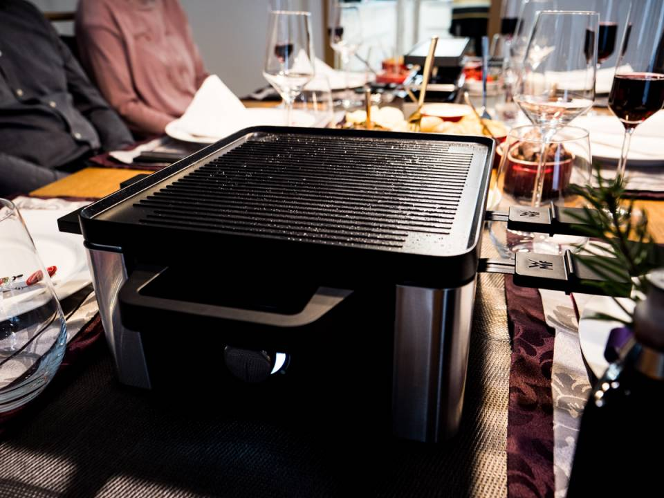 WMF Lono Raclette for 4
