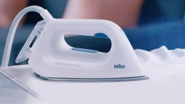 Dynamisch fürs TV inszeniert: Braun CareStyle Compact.