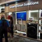 Die Smart Closet Solutions von Haier auf der CES 2019.