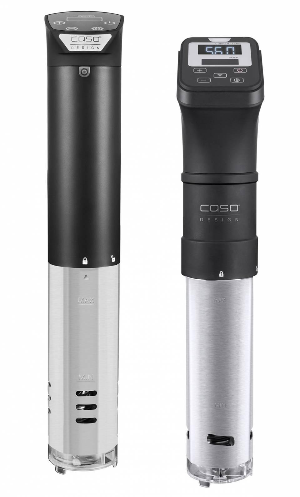 Caso SousVide Garer SV 1200 Smart mit Sensor-Touch.