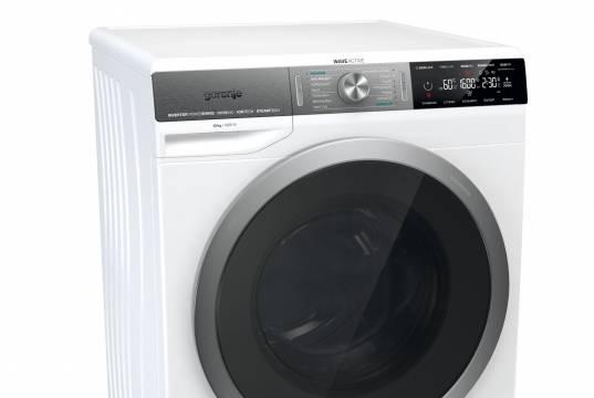 Gorenje Waschmaschine WaveActive WS 168 LNST mit 10 kg Fassungsvermögen.