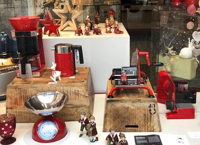 Graef sucht das schönste Schaufenster: Unser Foto zeigt das Schaufenster von Elektro Oswald & Menges in Miltenberg am Main.