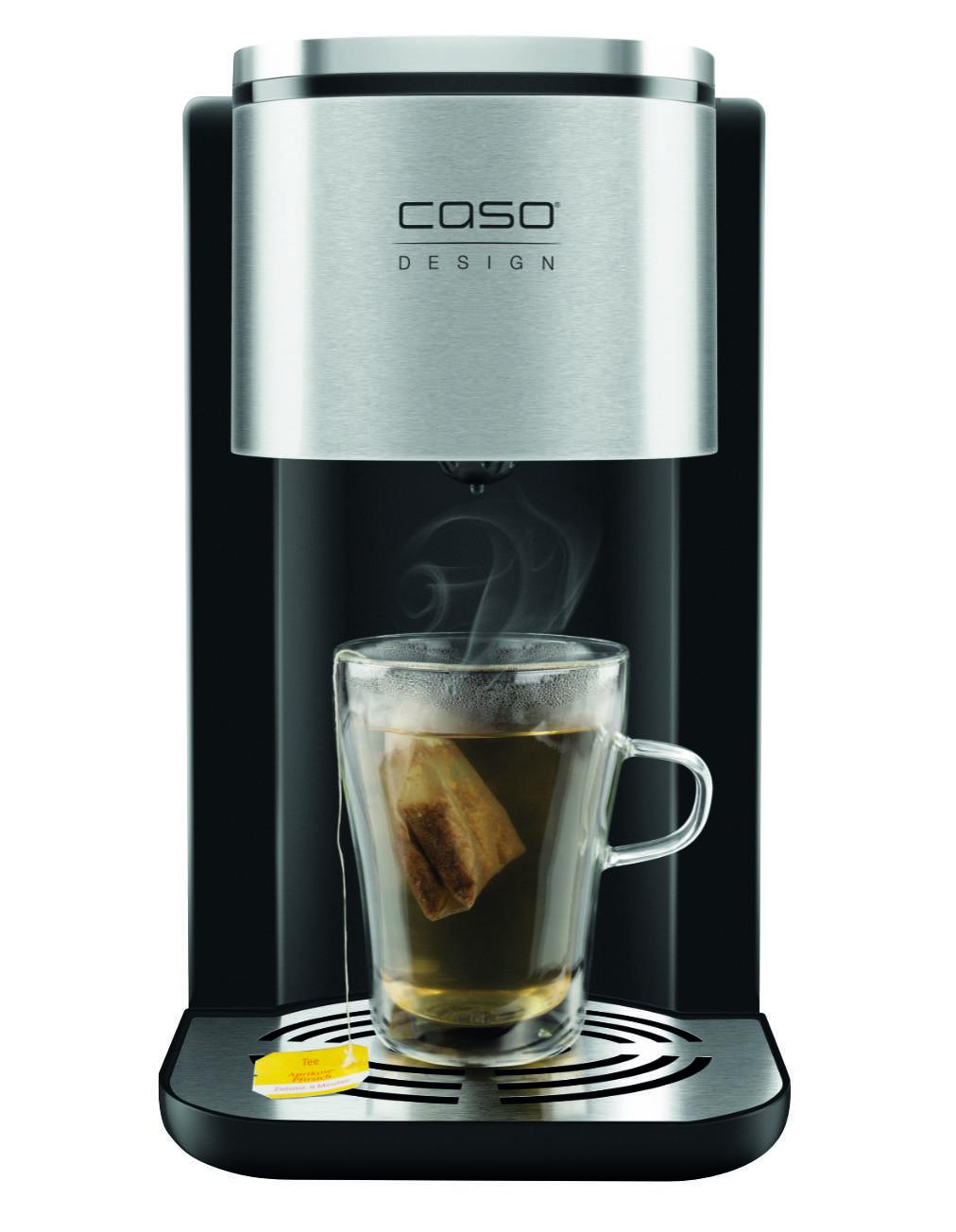 Der Turbo-Wasserspender HW 500 Touch von Caso spart Zeit und Energie.