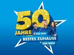 Logo Euronics 50 Jahre