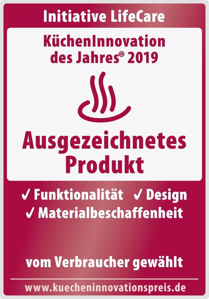 WMF Auszeichnung Siegel KüchenInnovationspreis