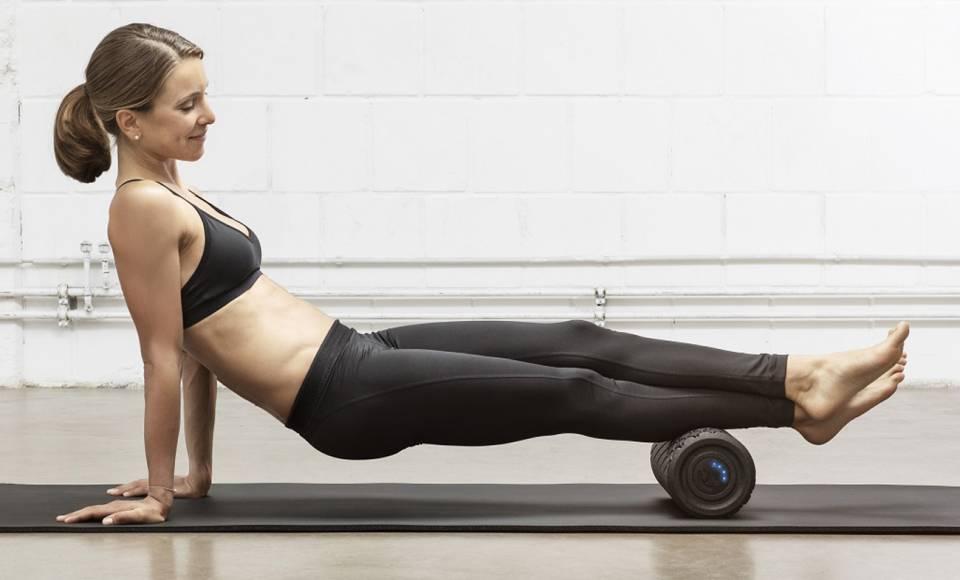 Medisana Massagerolle Power Roll in 31 cm und 45 cm Breite.