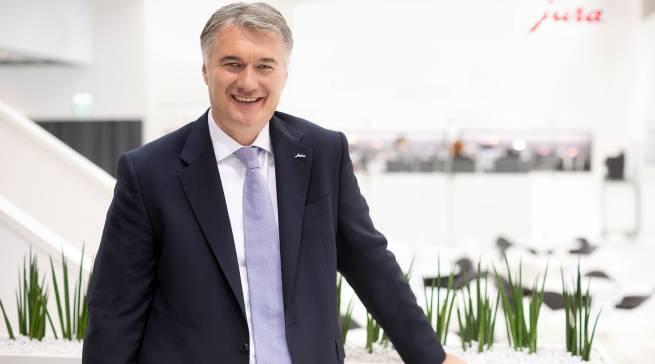 """""""Die Premium-Partner-Offensive schafft eine echte Win-win-Situation für alle Beteiligten"""", Horst Nikolaus, Geschäftsführer Jura Deutschland."""