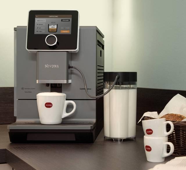 Nivona Kaffeevollautomat CafeRomantica NICR 970 mit Aroma Pre-Select.