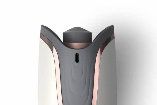 Philips Lockenstab MoistureProtect Auto Curler BHB878/00 mit MoistureProtect-Technologie.