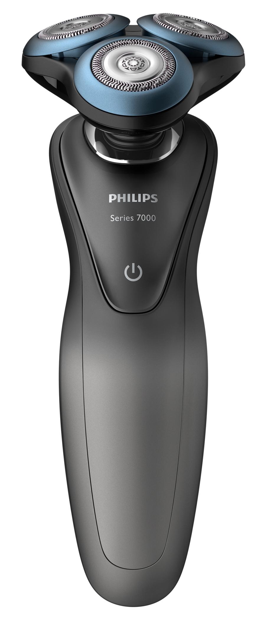 Philips Rasierer Serie S7000 mit GroomTribe-App.