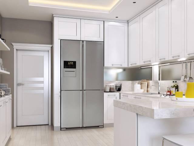 Sharp zeigt in Köln neue Oberflächen-Designs und flexible Küchenlösungen.