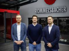 Verstärkung für Rommelsbacher (v.l.n.r.): Oliver Hawner, Sebastian Ullmann und Benjamin Blumenstock.