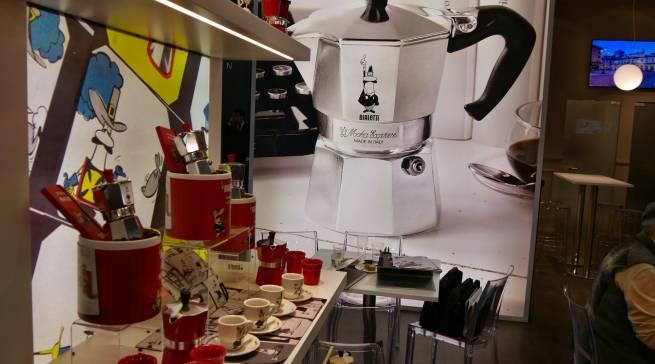 Bialetti versprühte besten italienischen Kaffeeduft.