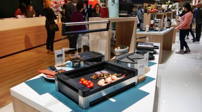 Ein Top-Thema der Messe: Grillen und BBQ, wie hier am Stand der WMF.