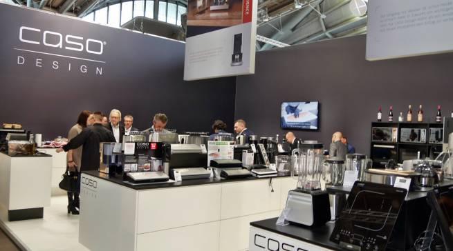 Neuer, größerer Stand - neue internationale Kunden: Caso.