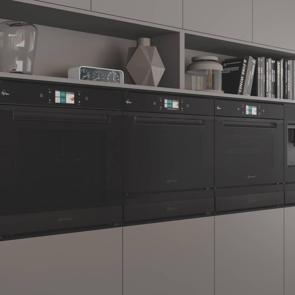 Eine Symbiose aus Funktionalität, Leistung und Design: die Einbaugeräte der Designlinie Collection.11 von Bauknecht.