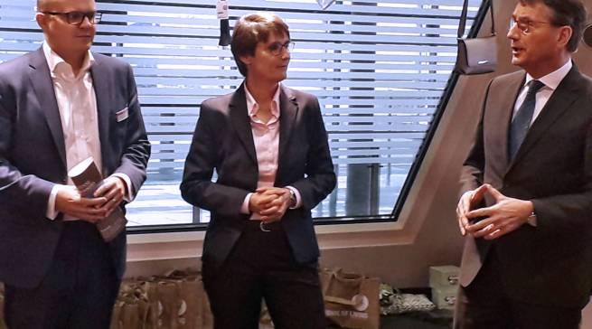Die EK-Macher standen in Frankfurt Rede und Antwort (v.l.): Jochen Pohle, Susanne Sorg und Franz-Josef Hasebrink.