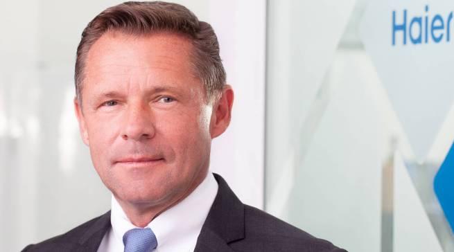 """""""Die area30 ist eine perfekte Bühne, auf der Haier nicht fehlen darf"""", so Geschäftsführer Thomas Wittling."""