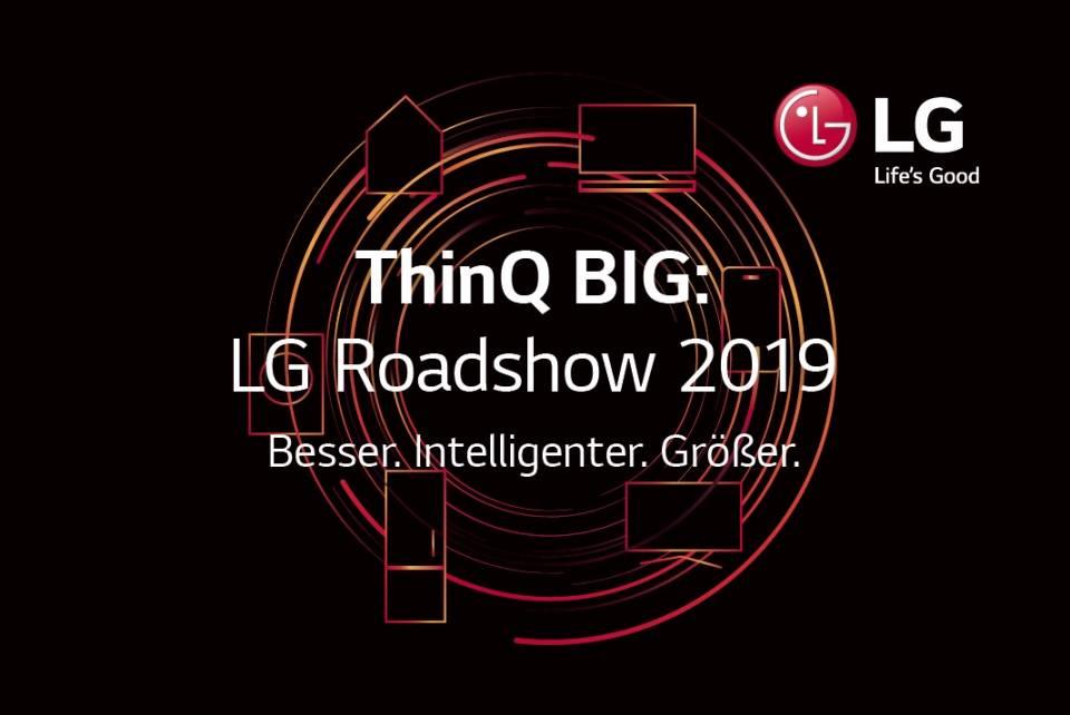 LG Electronics Logo Roadshow
