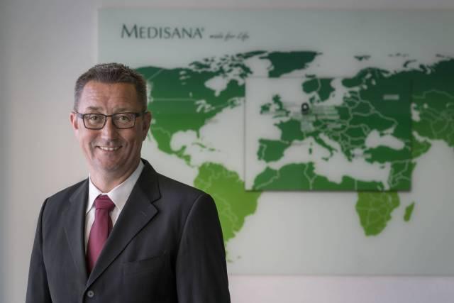 Wechsel an der Spitze bei Medisana: Marco Getz ist neuer Vorsitzender der Geschäftsführung.