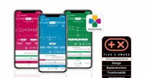 Dreifache Auszeichnung für VitaDock+ App von Medisana.