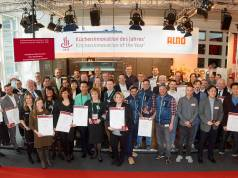 """Die Gewinner der Auszeichnung """"KüchenInnovation des Jahres 2019"""" auf der Ambiente in Frankfurt."""