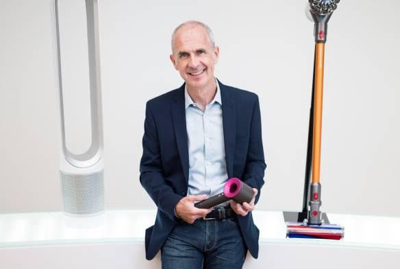 Neuer Arbeitsplatz in Singapur: Dyson Vorstandschef Jim Rowan. Fotos: Dyson
