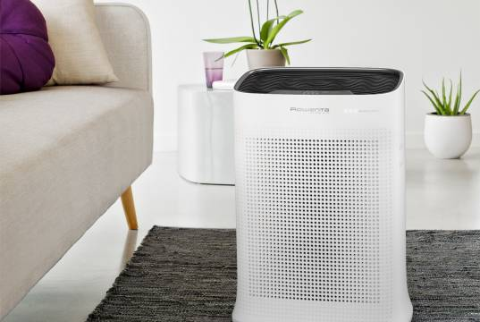 Rowenta Luftreiniger Pure Air für nahezu 100 Prozent gereinigte Luft.