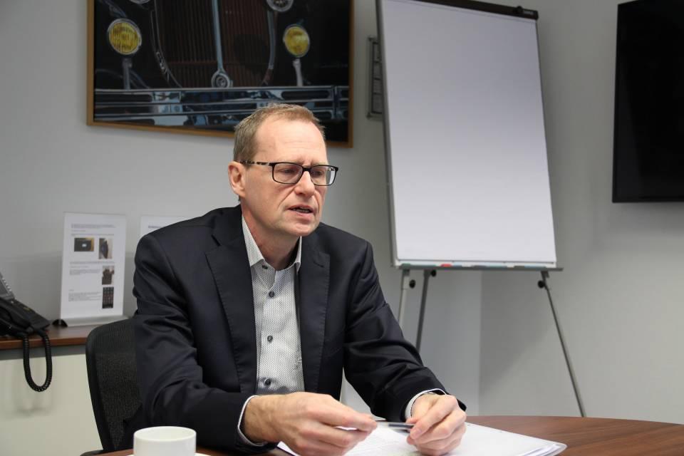 """""""Im Zusammenhang mit dem Energielabel kommen auf die Branche mittelfristig größere Herausforderungen zu"""", Werner Scholz, Geschäftsführer der Hausgeräte-Fachverbände im ZVEI."""