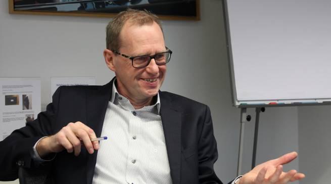 """""""Das ist eine der überflüssigsten Regulierungen, die ich kenne"""", Werner Scholz zur EU-weiten Datenbank für Hausgeräte, die in diesem Frühjahr online geht."""