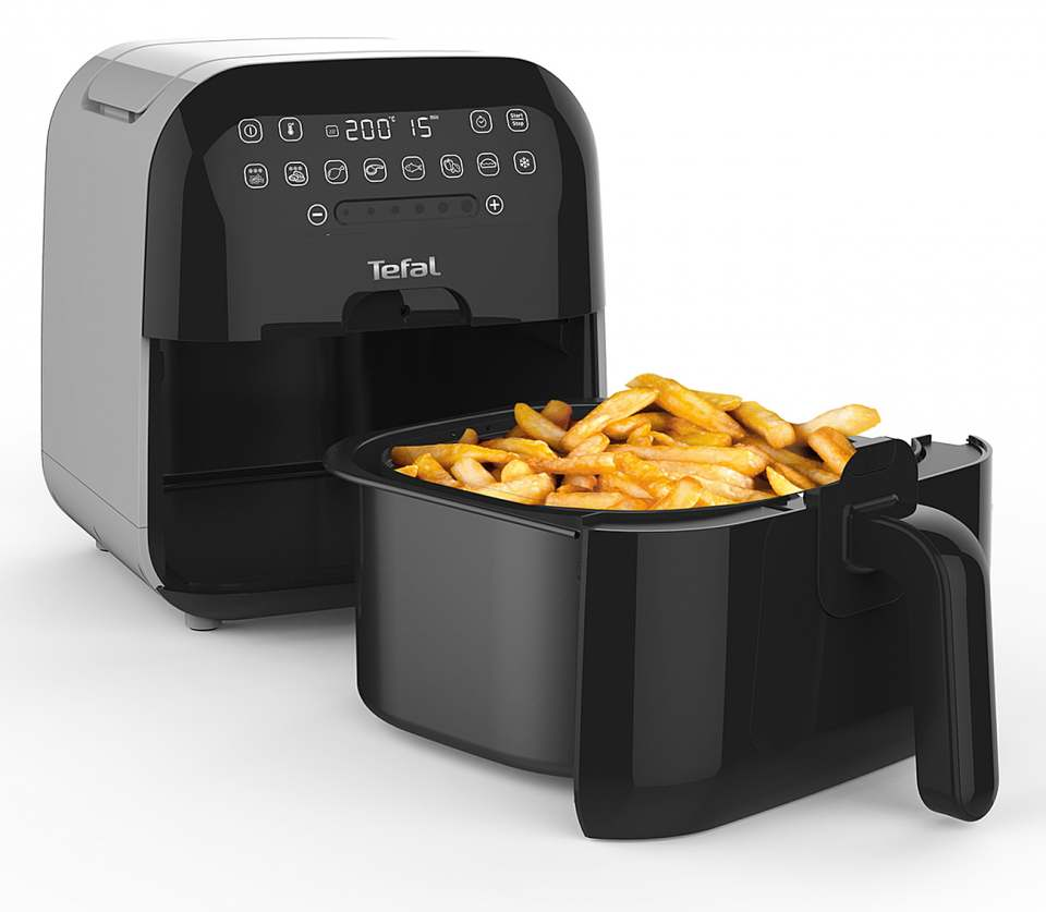 Tefal Fritteuse Ultimate Fry mit 8 Programmen.