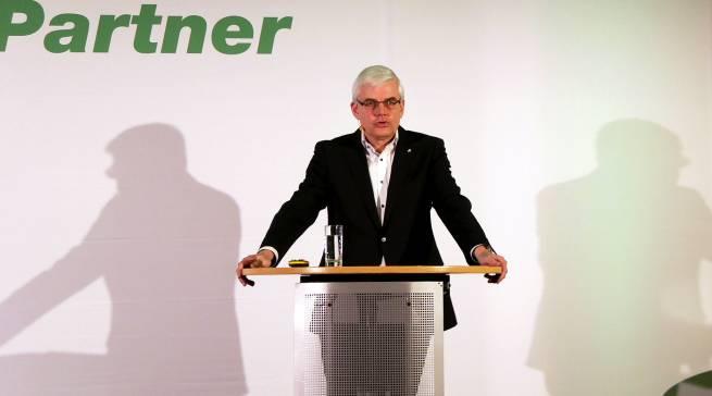 """Vorstand Karl Trautmann: """"Wir glauben, auch 2019 wird ein sehr, sehr herausforderndes Jahr. 2019 wird nochmal deutlich ruppig!"""""""