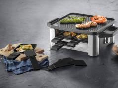 """Ideal für Fun-Cooking: das """"Lono Raclette for 4"""" von WMF."""