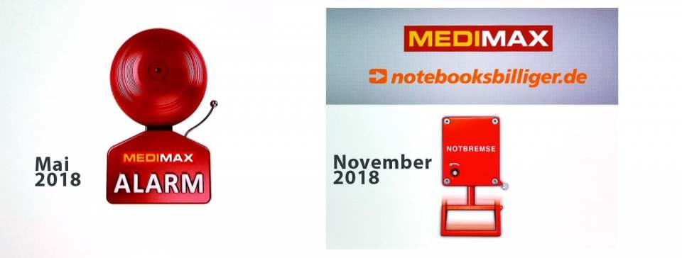 Medimax Alarm und Notbremse