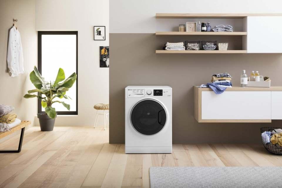 Macht mit ihrem Top-Design eine prima Figur im Haushalt: Bauknechts Active Care+ Steam Waschmaschinen