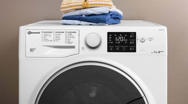 Ein starkes Waschergebnis und trotzdem schonend zur Wäsche: die Active Care + Steam Waschmaschine von Bauknecht.