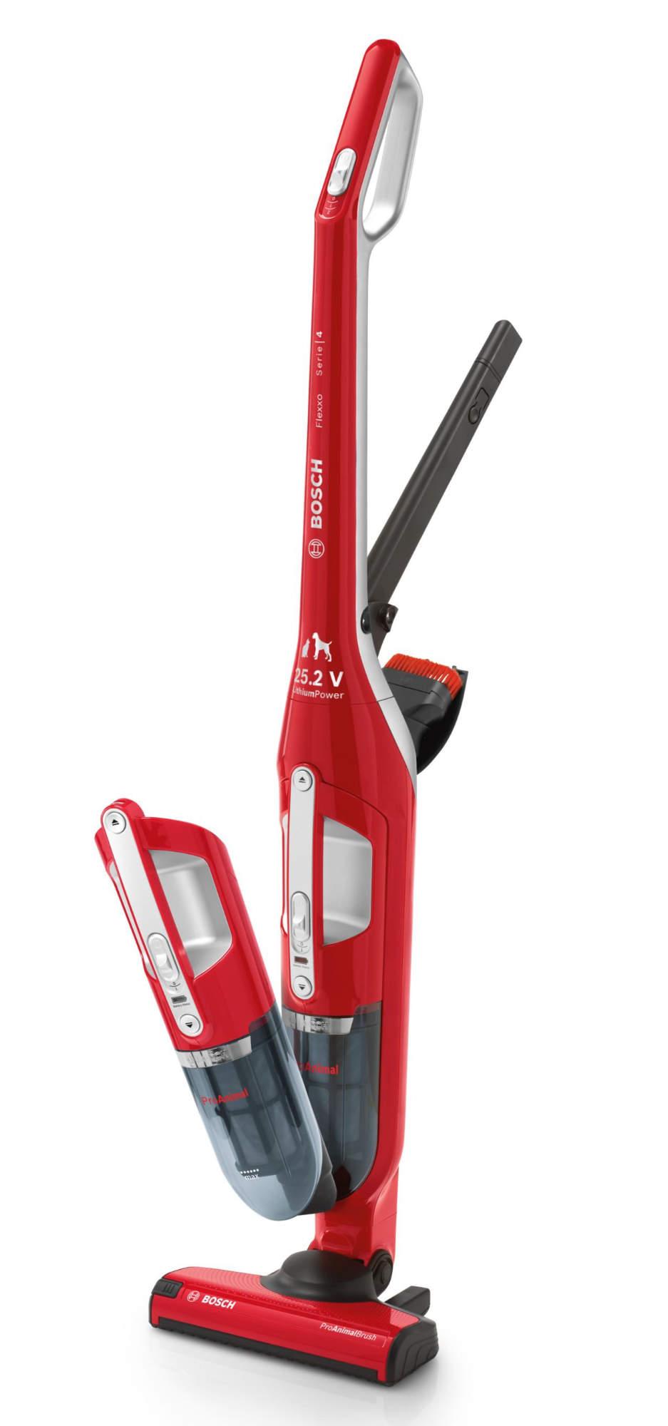 Saugstark und flexibel: der kabellose Bosch Flexxo.