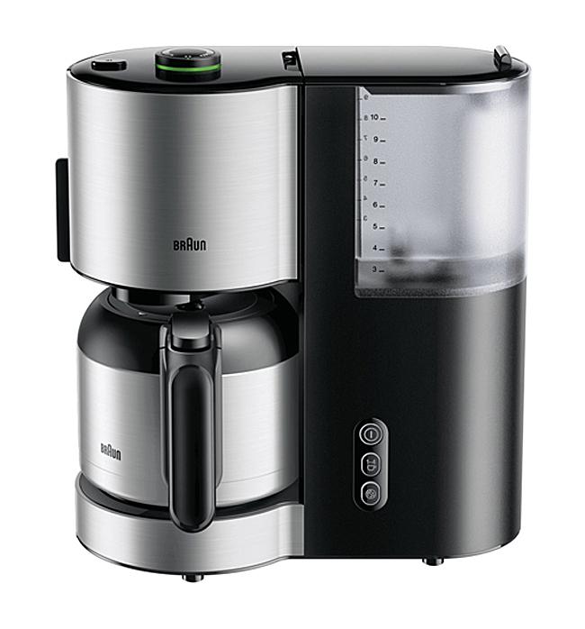 Braun Kaffeemaschine ID KF 5105 mit AromaSelect.