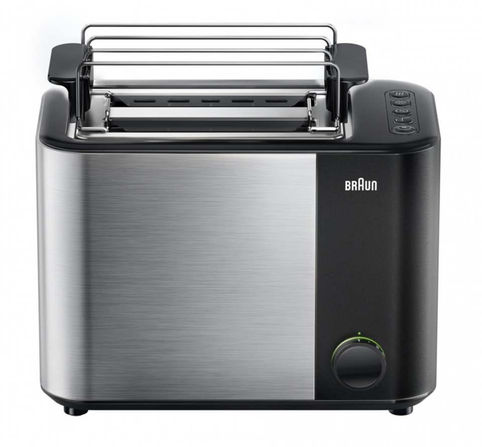 Braun Toaster ID HA 5010 mit 13 Bräunungsstufen.