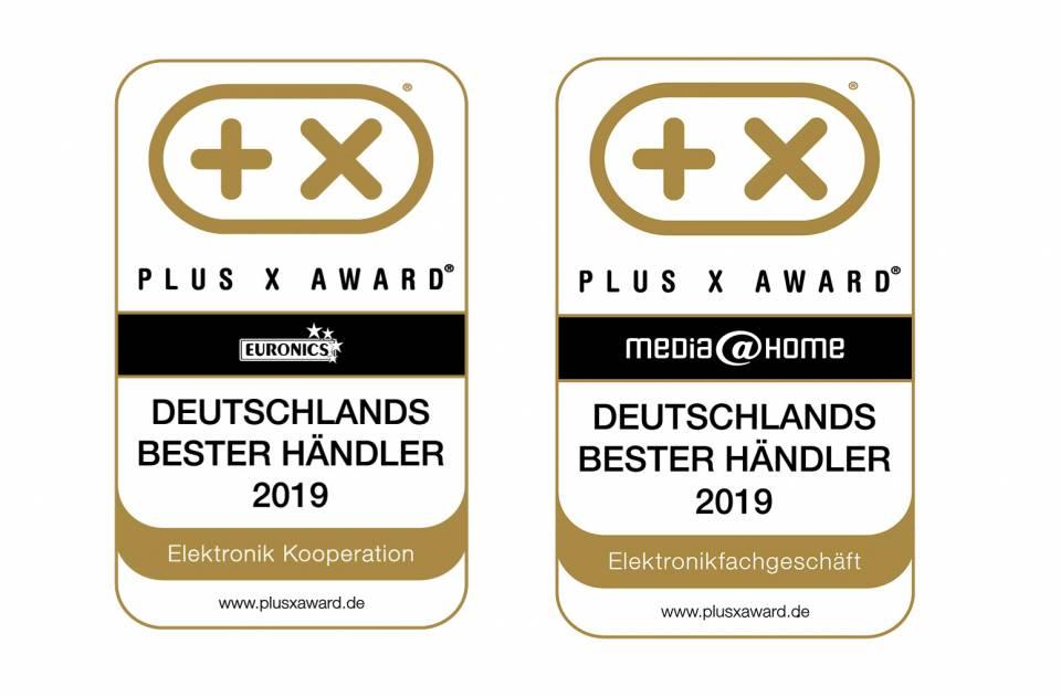 EURONICS PlusX-Award Deutschlands bester Händler