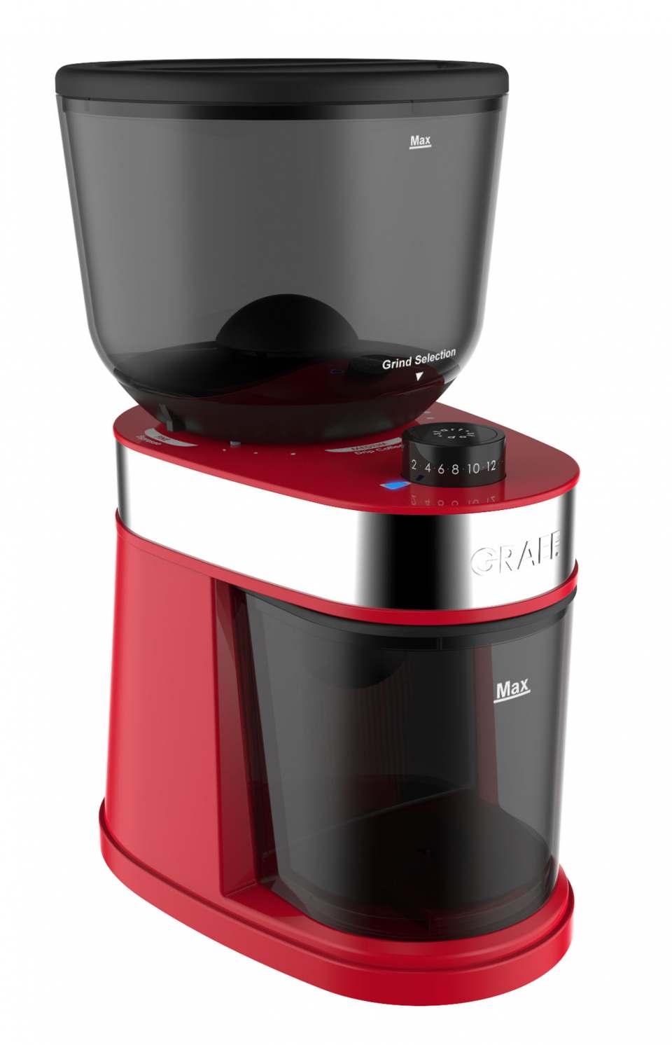 Graef Kaffeemühle CM 200 mit 18 Mahlstufen.