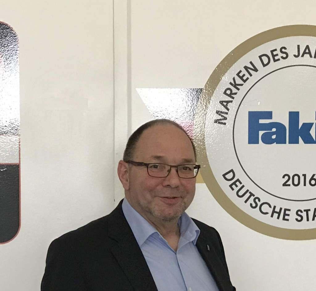 Uwe Heinatzki ist neuer Gebietsverkaufsleiter bei Fakir für den Norden.